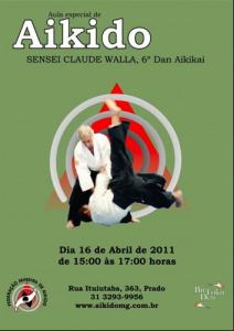 Aula de Aikido em Prado / MG