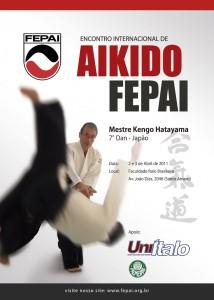Encontro Internacional de Aikido Fepai com Kengo Hatayama - 7º Dan Aikikai