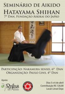 Seminário de Aikido com Hatayama Shihan em Fortaleza - CE